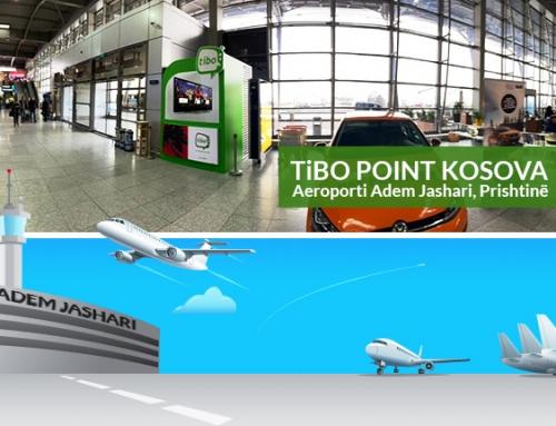 """TiBO IPTV tashmë edhe në Aeroportin """"Adem Jashari"""", Prishtinë"""