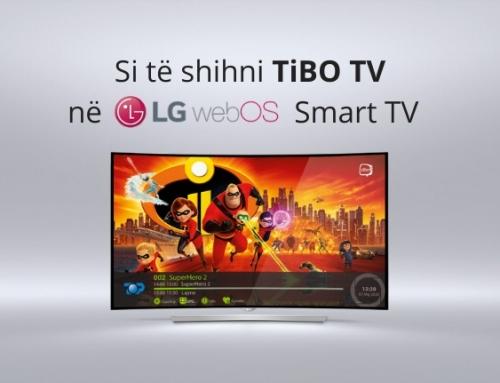 Si të shihni TiBO TV në televizorët LG