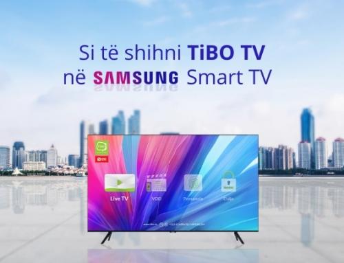 Si të shihni TiBO TV në televizorët SAMSUNG