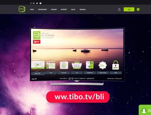 TiBO IPTV, platforma e vetme e Liçensuar dhe e Autorizuar për të transmetuar kanalet mbarëshqiptare kudo në Botë