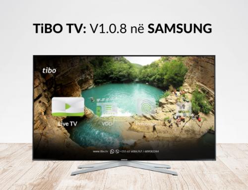 TiBO TV përditëson softin në SAMSUNG Smart TV