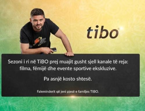TIBO vjen me një programacion revolucionar, plot me kanale të reja për të gjithë abonentët e tyre.